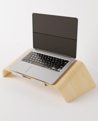 Notebook Curved Stand